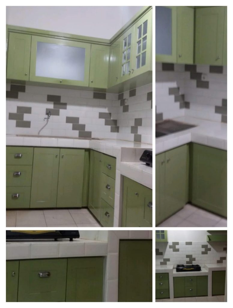 kitchen acp hijau